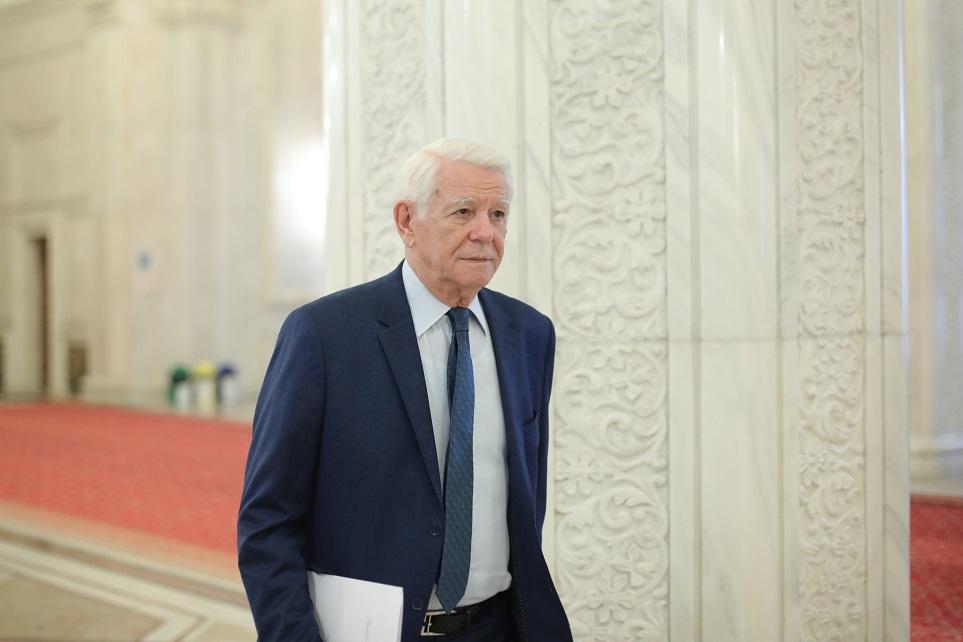 CCR: Alegerea lui Teodor Meleşcanu la conducerea Senatului e neconstituţională