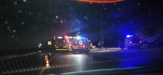 Accident rutier pe DN66