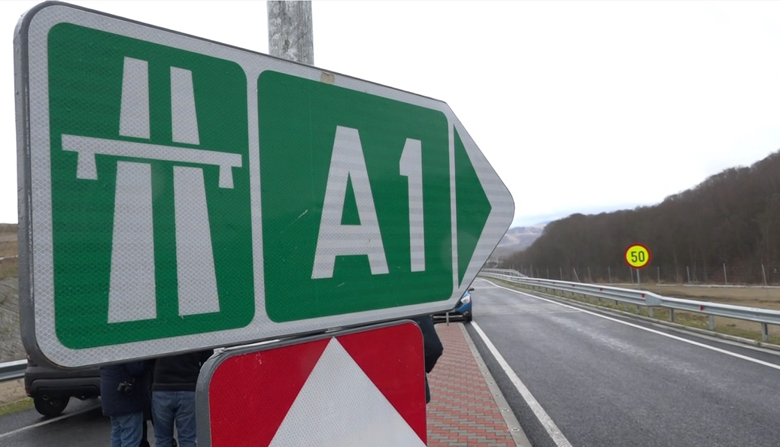 Circulație restricționată pe autostrada A1 Sibiu-Deva