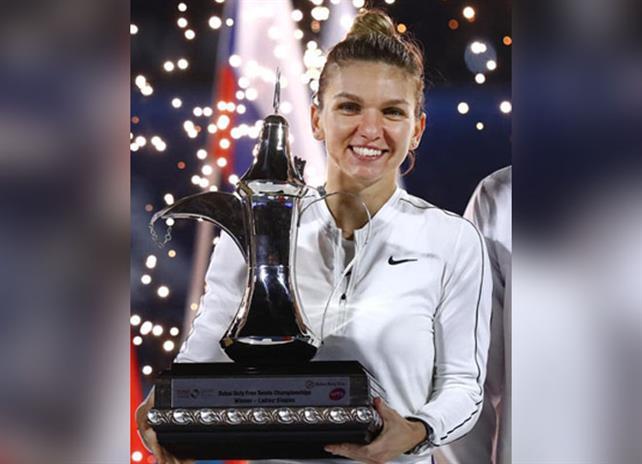 Simona Halep a câştigat turneul de la Dubai şi a obţinut al 20-lea titlu în circuitul WTA