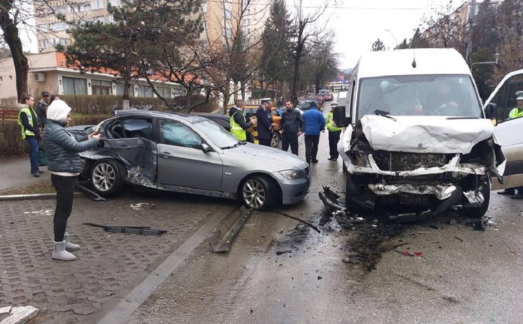 Deva: Accident rutier cu trei victime