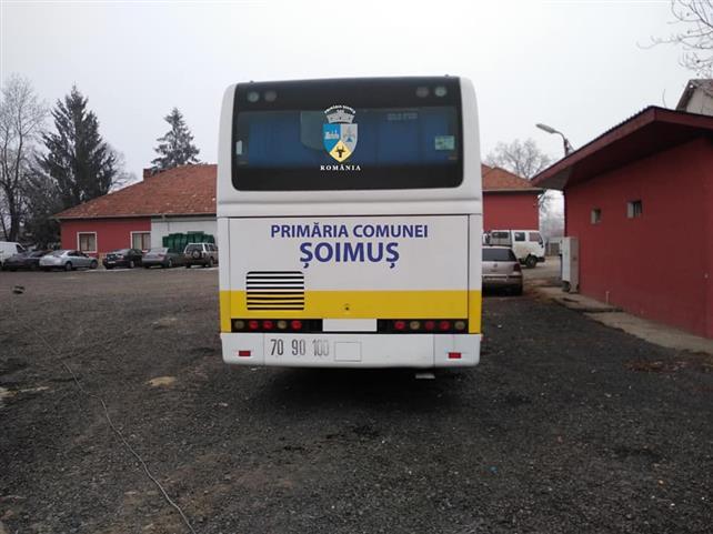 Autocar pentru elevii din Șoimuș