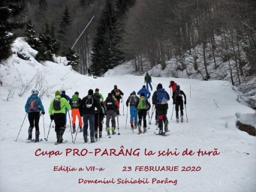 CUPA PRO-PARÂNG LA SCHI DE TURĂ