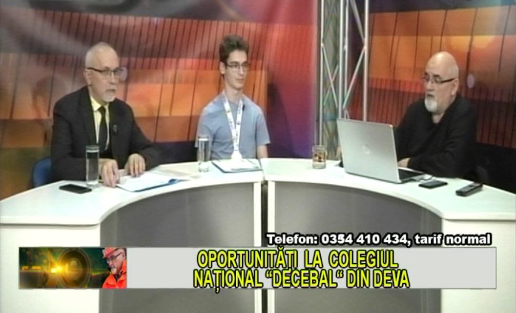"""OPORTUNITĂȚI LA COLEGIUL NAȚIONAL """"DECEBAL"""" DIN DEVA"""