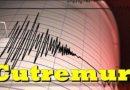 Cutremur în această dimineață