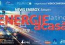 """Lideri din industria energetică discută principalele subiecte de interes la videoconferinţa """"Energie la tine acasă"""""""