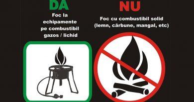 Focul este interzis în Parcul Național Retezat