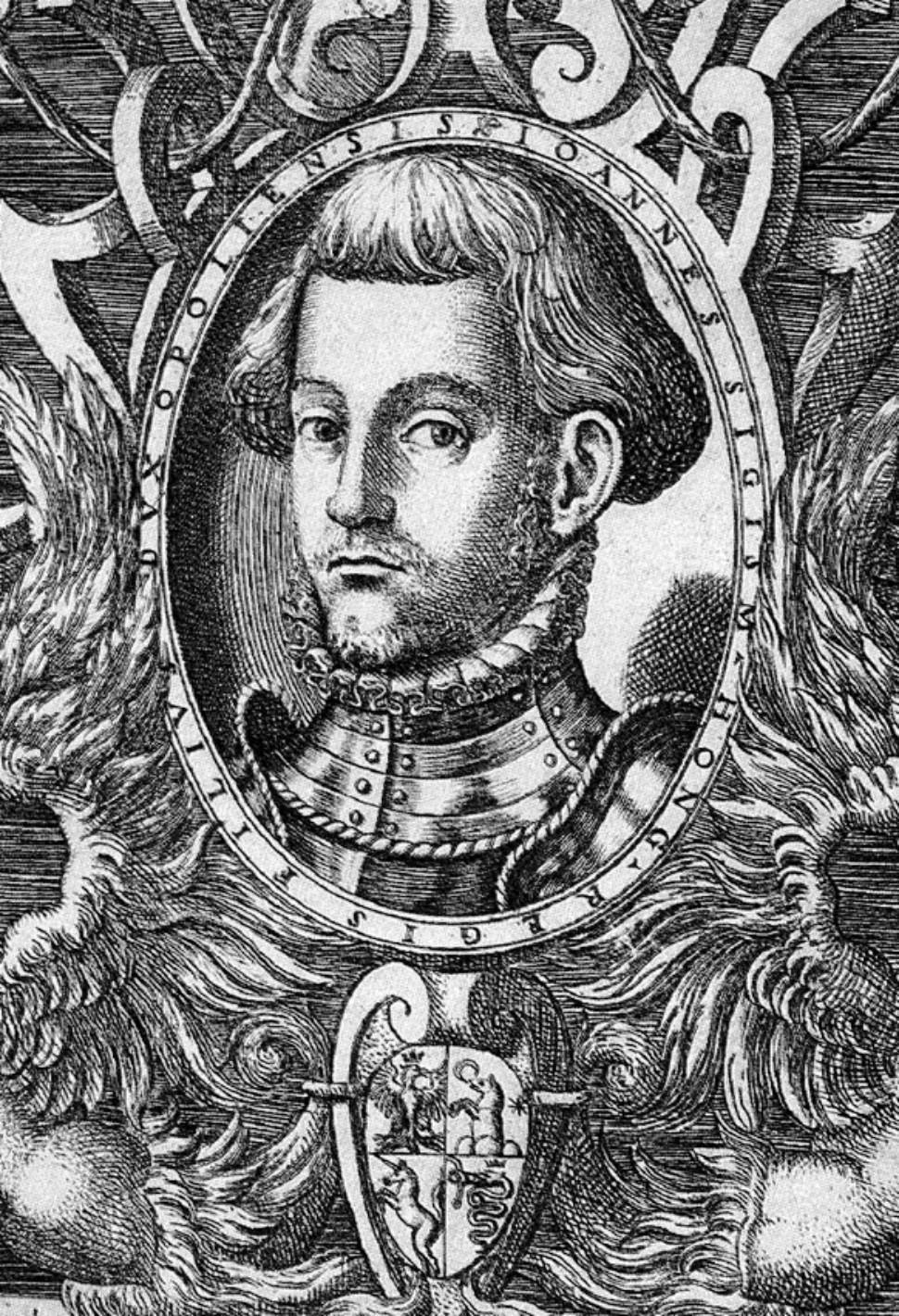 7. Principele transilvănean Ioan Sigismund Zapolya s-a infruptat și el din  aurul dacilor. Nu a avut niciodată copii și a murit de tânăr, în urma unei  boli misterioase - Stiri din judetul Hunedoara