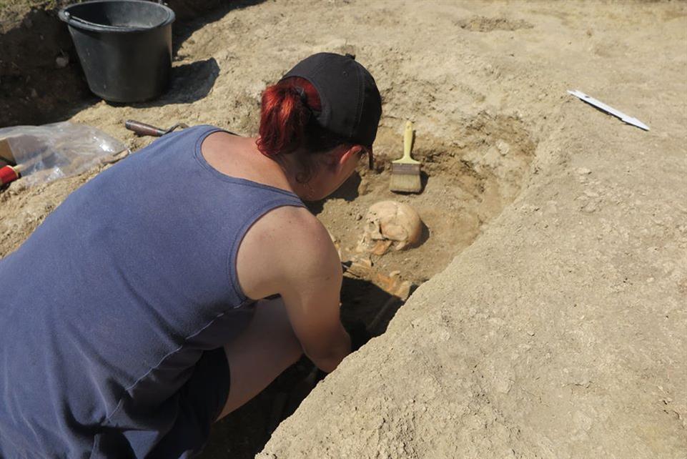 Arheologul Angelica Bălos