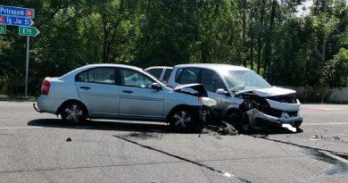 Accident rutier la ieșirea din Petroșani