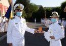 Șefa de promoție a Școlii Militare de Maiștri Militari a Forțelor Navale este hunedoreancă