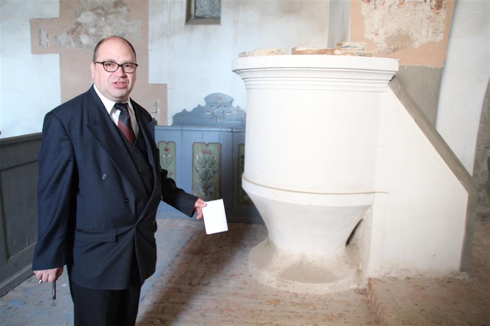 Preotul reformat Czuhai Miklos