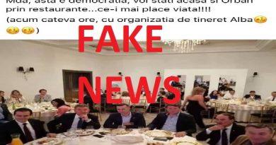 Fals grosolan împotriva PNL și a premierului Ludovic Orban promovat agresiv de propaganda pesedistă