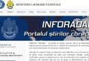 INFORADAR – platformă online dedicată contracarării ştirilor false, lansată de Ministerul Apărării Naţionale