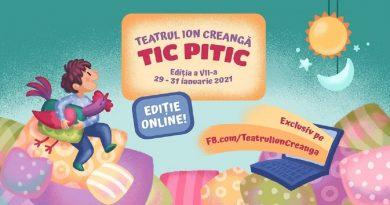 """""""Tic Pitic"""", trei zile de experienţe educaţionale pentru copii, online"""