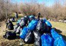 Zeci de saci cu gunoaie