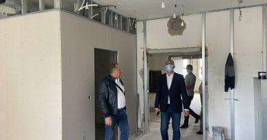 Verificări la lucrările de șantier din cadrul Spitalului Județean Hunedoara