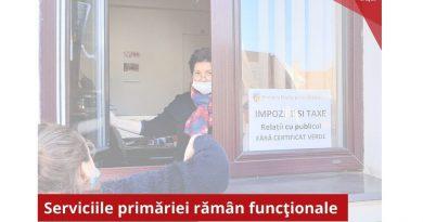Primăria din Orăștie operaționalizează două birouri pentru persoanele care nu au acces în interiorul instituției
